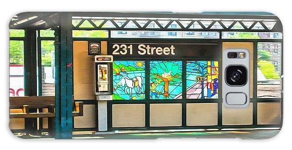 231 Street Subway Galaxy Case