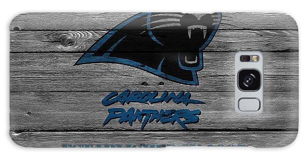 Panther Galaxy S8 Case - Carolina Panthers by Joe Hamilton
