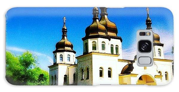 Religious Galaxy Case - Ukranian Orthodox Church by Heidi Hermes