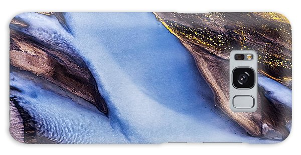 Aerial Photo Galaxy Case by Gunnar Orn Arnason