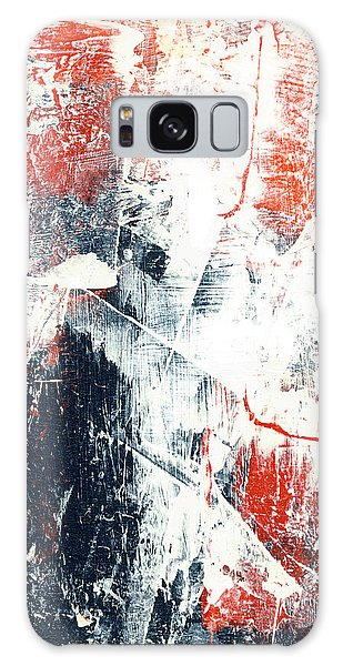 Moving On - Contemporary Abstract Painting Galaxy Case
