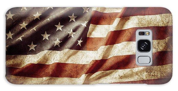 American Flag 53 Galaxy Case