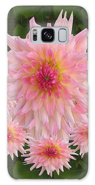 Abstract Flower Floral Photography And Digital Painting Combination Mixed Media By Navinjoshi       Galaxy Case