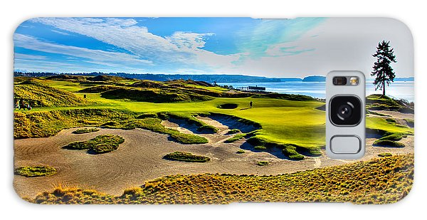 #15 At Chambers Bay Golf Course - Location Of The 2015 U.s. Open Tournament Galaxy Case