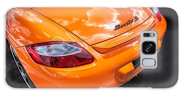 2008 Porsche Limited Edition Orange Boxster  Galaxy Case