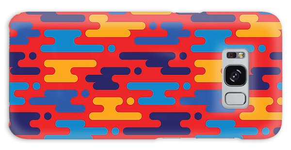 Horizontal Galaxy Case - Abstract Geometric Background - by Sergey Korkin