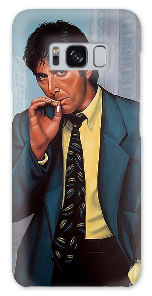 Beach Galaxy S8 Case - Al Pacino 2 by Paul Meijering