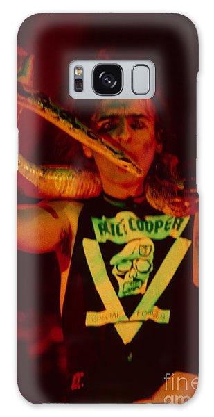Alice Cooper At The Concord Pavillion Galaxy Case