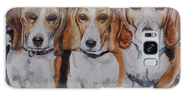 3 Amigo Beagles Galaxy Case