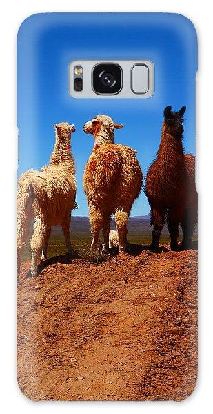 Llama Galaxy S8 Case - 3 Amigos by FireFlux Studios