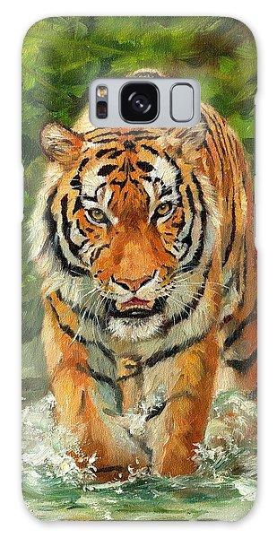Amur Tiger Painting Galaxy Case