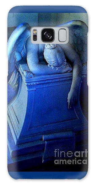 Angelic Sorrow Galaxy Case by Michael Hoard
