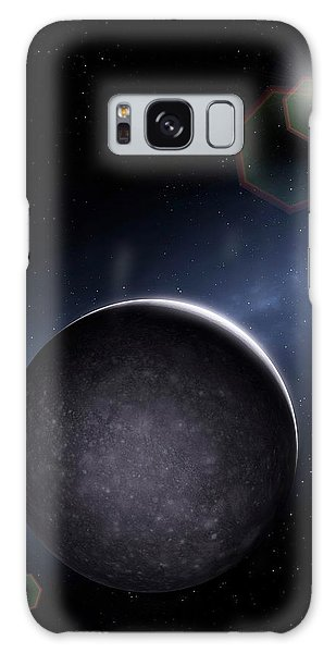 Chasm Galaxy Case - Artwork Of Jovian Moon Callisto by Mark Garlick/science Photo Library