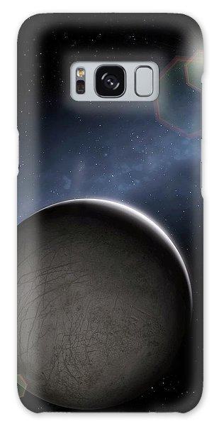 Chasm Galaxy Case - Artwork Of Jovian Moon Europa by Mark Garlick/science Photo Library