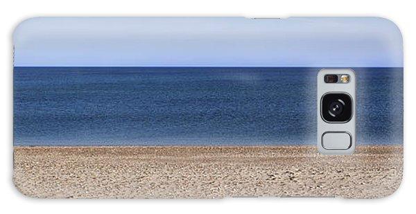 Color Bars Beach Scene Galaxy Case