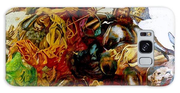 Battle Of Grunwald Galaxy Case by Henryk Gorecki