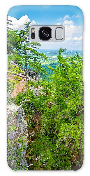 Beautiful Aerial Landscape Views From Crowders Mountain North Ca Galaxy Case