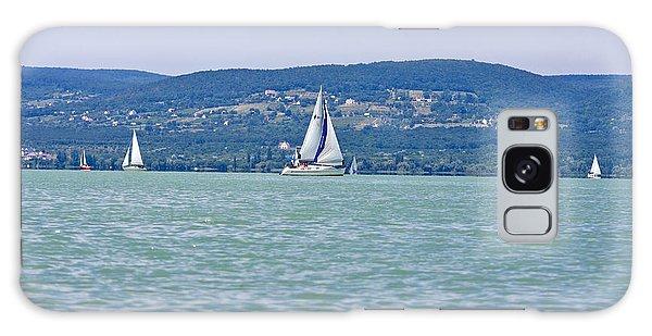 Beautiful Lake Balaton  Galaxy Case