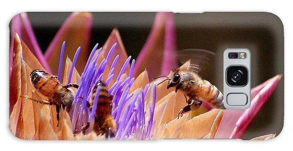 Bees In The Artichoke Galaxy Case by AJ  Schibig