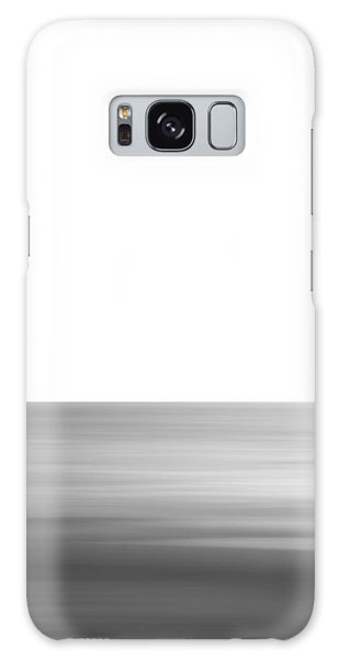 Black And White Abstract Seascape No. 02 Galaxy Case