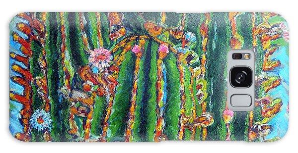 Blooming Cactus Galaxy Case by Gerhardt Isringhaus