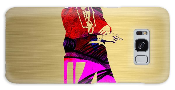 Bob Dylan Gold Series Galaxy Case by Marvin Blaine