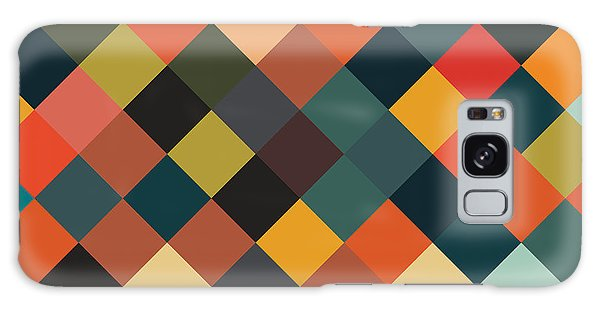 Vector Galaxy Case - Bold Geometric Print by Mike Taylor