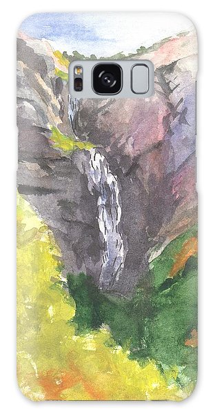 Bridal Veil Falls Galaxy Case by Sherril Porter