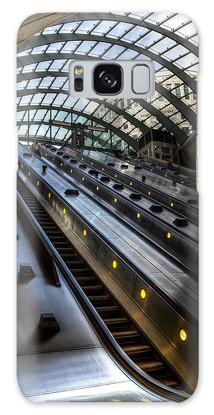 Canary Wharf Station Galaxy Case
