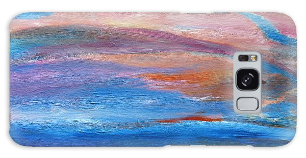 Cape May Sunset Galaxy Case by Vadim Levin