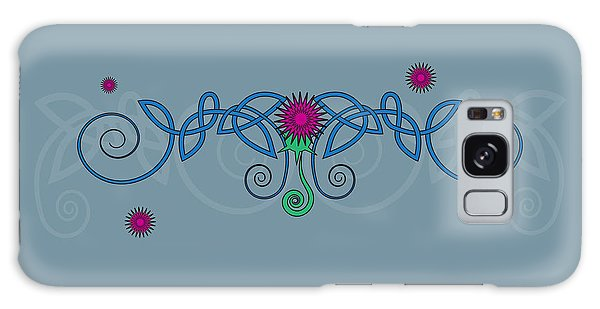 Celtic Thistle Galaxy Case