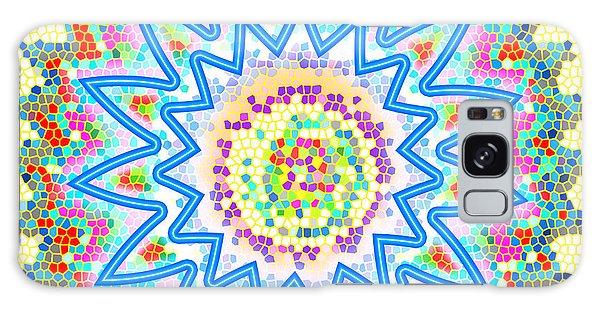 Colorful Signature Art Chakra Round Mandala By Navinjoshi At Fineartamerica.com Rare Fineart Images  Galaxy Case