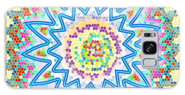 Colorful Signature Art Chakra Round Mandala By Navinjoshi At Fineartamerica.com Rare Fineart Images  Galaxy Case by Navin Joshi