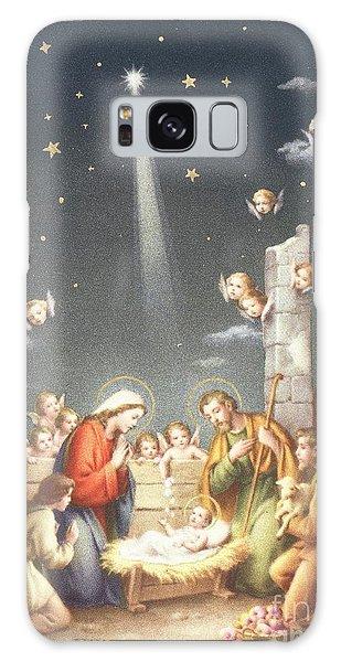 Bethlehem Galaxy Case - Christmas Card by French School
