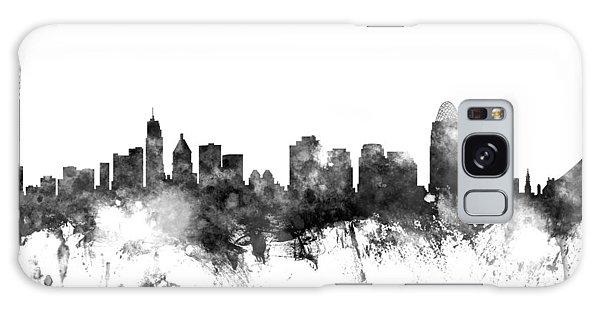 Usa Galaxy Case - Cincinnati Ohio Skyline by Michael Tompsett