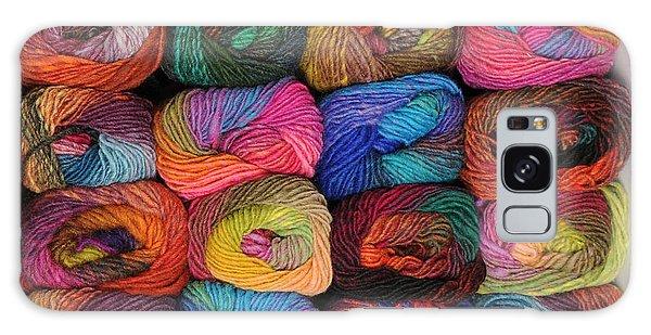 Colorful Knitting Yarn Galaxy Case