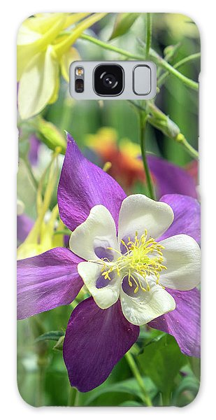 Aquilegia Galaxy Case - Columbine Flowers, Usa by Lisa S. Engelbrecht