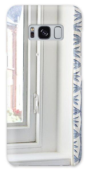 Window Galaxy Case - Curtain by Tom Gowanlock