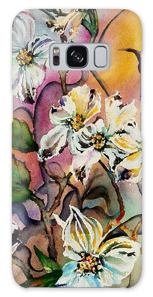 Dance Of The Dogwoods Galaxy Case by Lil Taylor