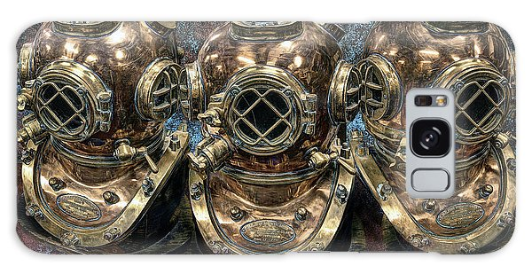 Scuba Diving Galaxy Case - 3 Deep-diving Helmets by Daniel Hagerman
