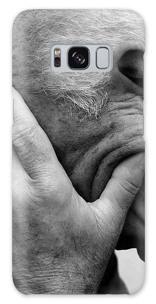 Hiding Galaxy Case - Depressed Elderly Man by Cordelia Molloy/science Photo Library