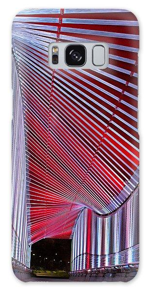 Double Helix Footbridge Galaxy Case