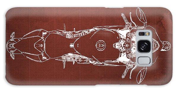 Blueprint Galaxy Case - Ducati 1199 Panigale Blueprint 2 by Drawspots Illustrations