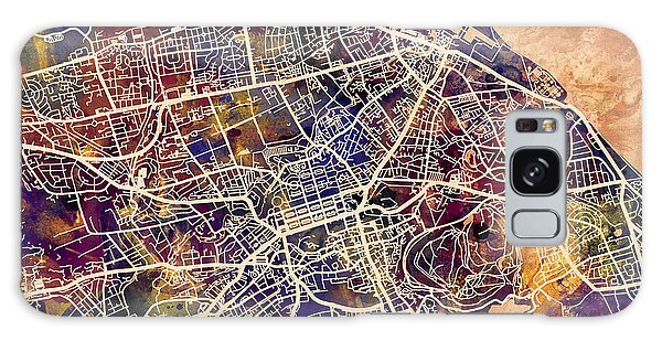 City Map Galaxy Case - Edinburgh Street Map by Michael Tompsett