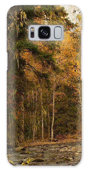 Fall At Sheep Creek Galaxy Case