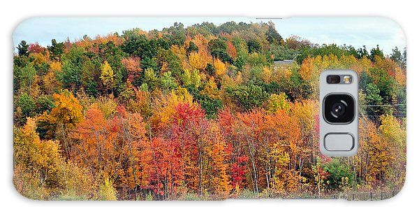 Fall Foliage In New England Galaxy Case