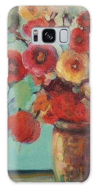 Floral Painting Galaxy Case