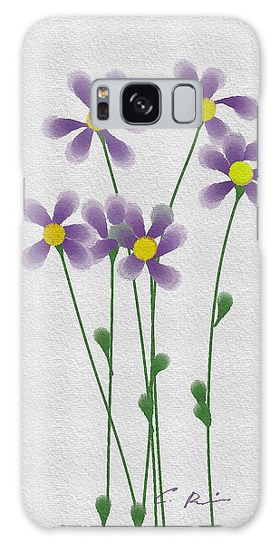 Flowers Galaxy Case