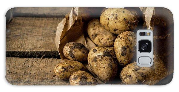Fresh Potatoes Galaxy Case