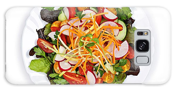Garden Salad Galaxy Case